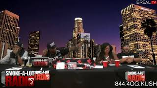 "Reime Schemes interview on ""Smoke- Alot- Radio w/ Yukmouth."