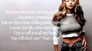 Beyonce - I care Lyrics