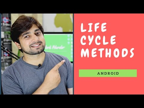 Android Lifecycle methods