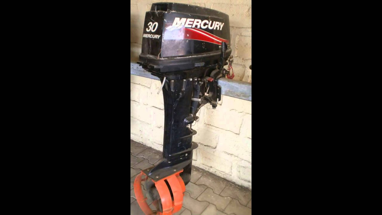 Mercury 30 HP Used Outboard Boat Engine For Sale - YouTube