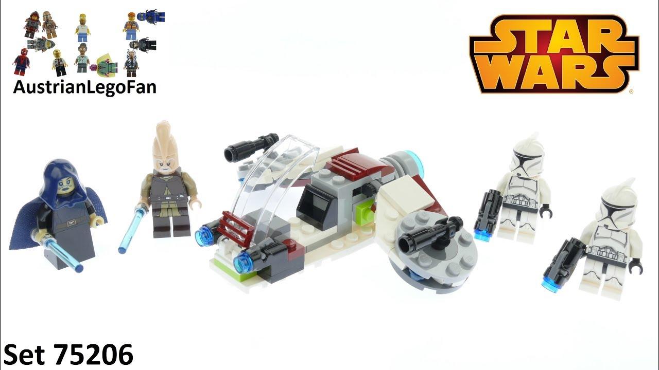 Lego Star Wars 75206 Jedi /& Clone Troopers Battle Pack Ki-Adi-Mundi Minifigure