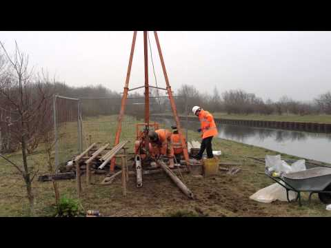 Cable Cut Down Rig Canal by Geo Site Surveys