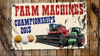 Let`s Play Farm Machines Championships 2013 #01  Slalom mitm Trekker