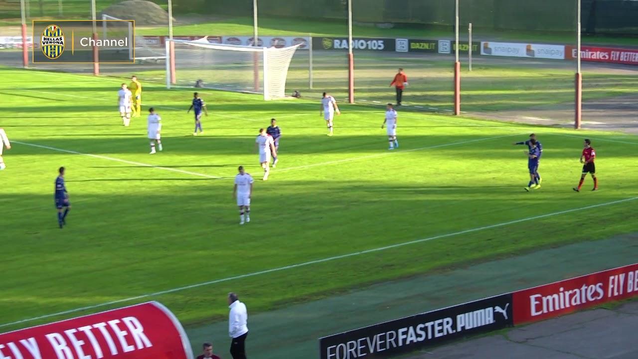 Highlights Primavera 2: Milan-Hellas Verona 5-0 - YouTube