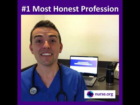 Nurses Ranked #1 MOST Ethical & Honest Profession - 2017, Gallup Poll