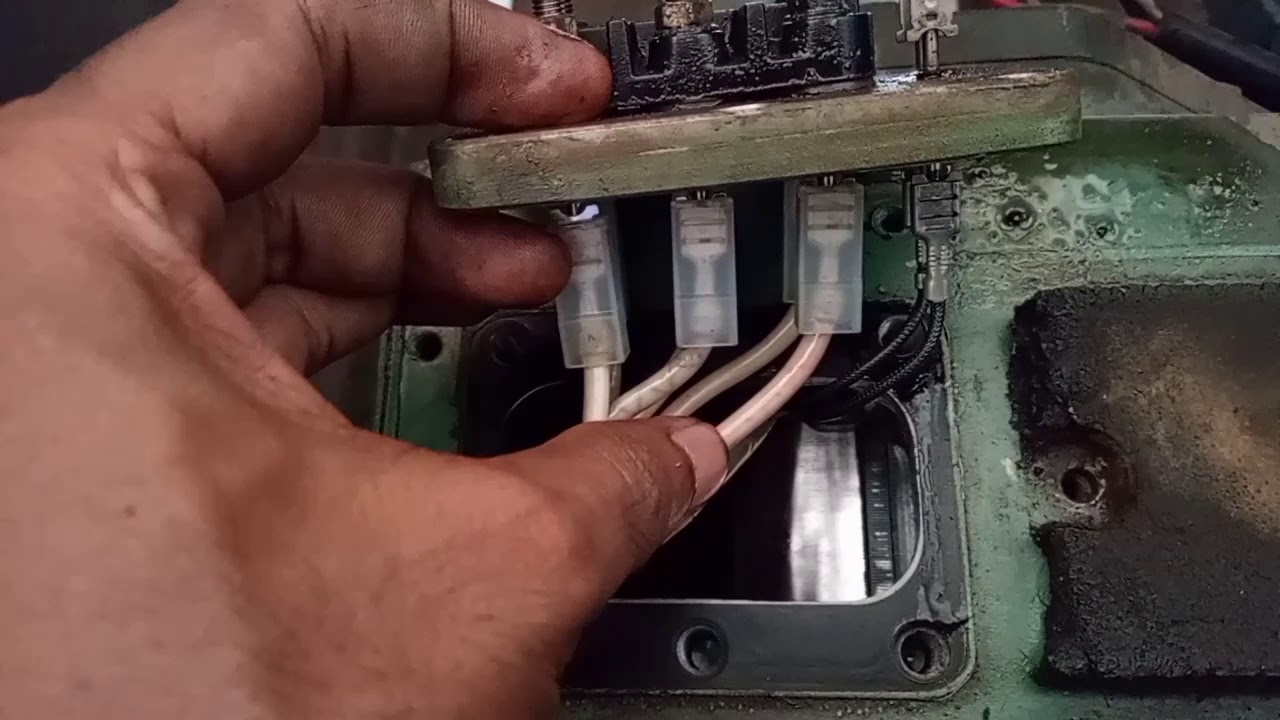 How to Compressor Electrical Terminal Connection// 3 phase