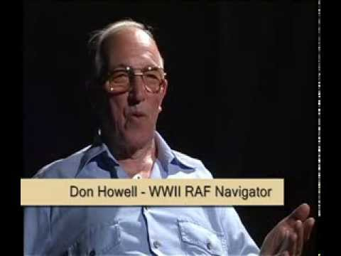 Don Howells New-Year Emergency Landing In Portugal in WWII