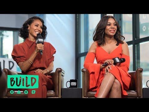 """Regina Hall & Jada Pinkett Smith Talk About """"Girls Trip"""""""
