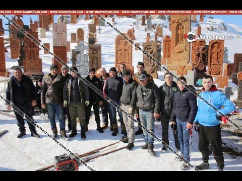 Սբ. Հովհաննես մատուռի տանիքի վերանորոգման աշխատանքները կատարում են գյուղի երիտասարդները