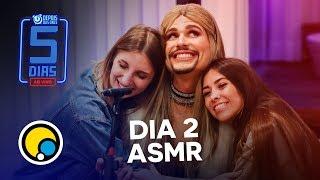 Baixar Natty e Depois das Onze fazem ASMR no #5DiasAoVivo