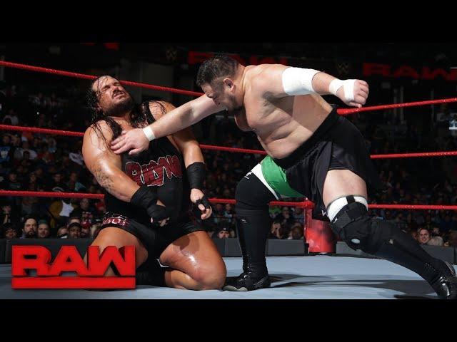 Image result for Samoa Joe vs Rhyno RAW 1/8/18