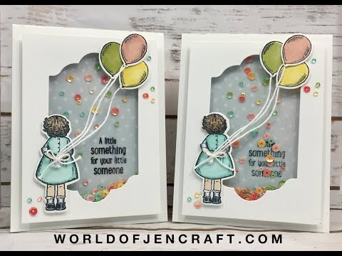 Stampin' Up! - Birthday Delivery Shaker Card Tutorial