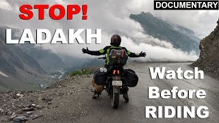 Don't Ride to LADAKH without watching this Documentary