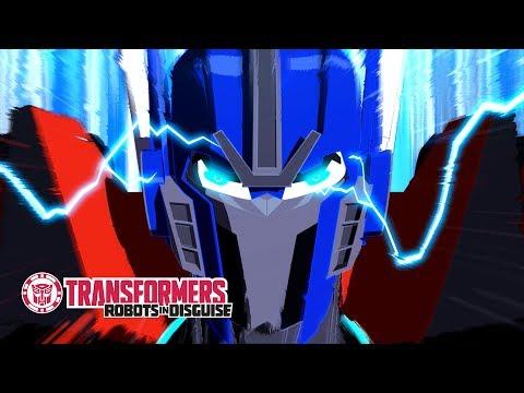 'Optimus Prime Reborn' Official Clip ⚡ Transformers: Robots In Disguise Season 1