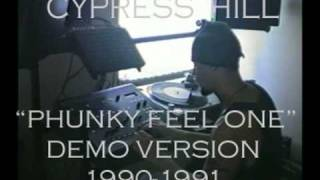 """ The Phuncky Feel One"" Demo Version by Cypress Hill 1990-1991--RARE HIP HOP CLASSIC!"