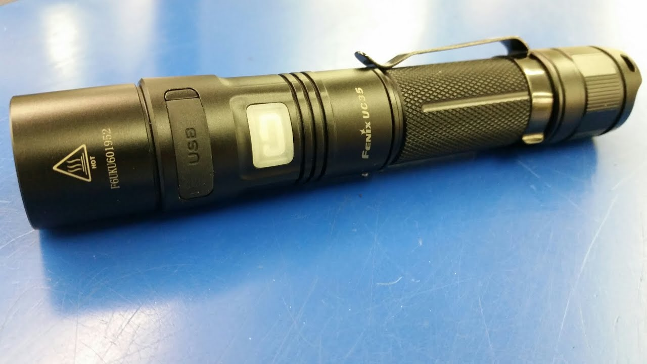 NEW Fenix UC35 Flashlight...The Light That Almost Does It All!