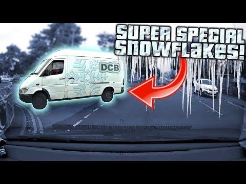📸 UK Dash Cam | SUPER SPECIAL SNOWFLAKES 👉❄👈  | Bad Drivers of BRISTOL #69