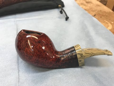 Canadian Pipe Maker Michael Parks of Parks Pipes here in Bowmanville On