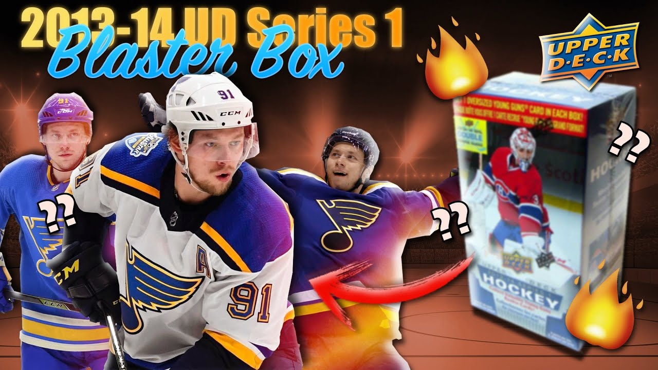 2013-14 Upper Deck Series 1 Hockey Blaster Box Break