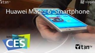 Huawei Mate - Das größte Smartphone mit einem 6 Zoll Display [CES 2013 - t3n TV]