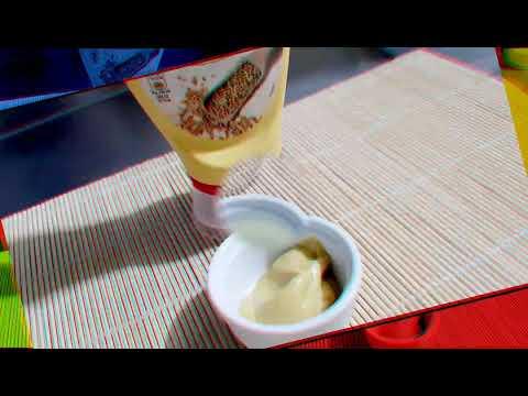 MACELLERIA VEGETARIANA VEGETARIAN BUTCHER SHOP ITALY MAKING SOY MAYONNAISE