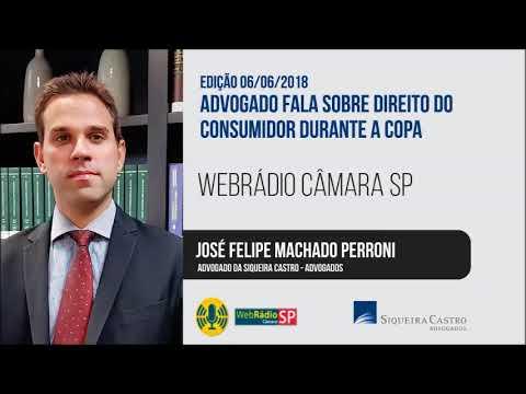 WebRádio Câmara SP - Advogado fala sobre direito do consumidor durante a Copa