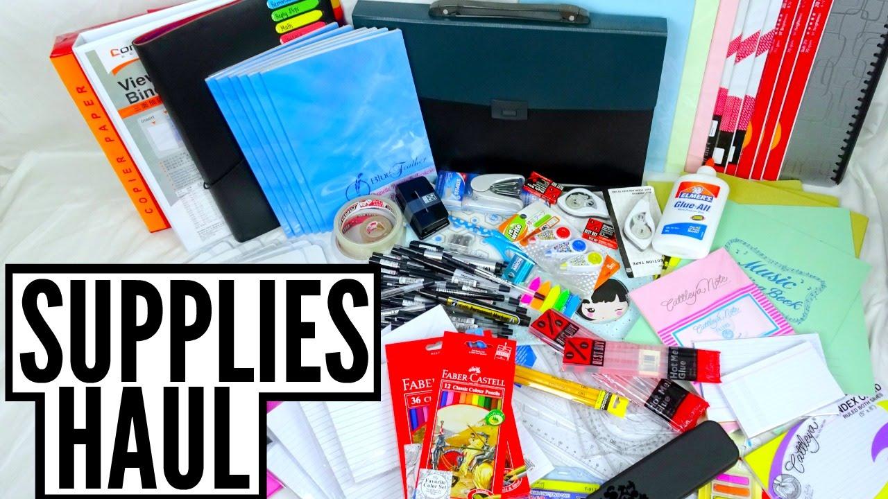 Back to School : School Supplies Haul 2016 (Philippines)