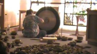 Sun Gong, Tibetan Singing Bowls, Tingshags, Drilbu and Conch Meditation Music Part 8