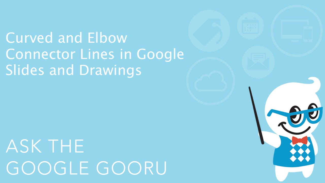 Curved and elbow connector lines in google slides and drawings youtube ccuart Images