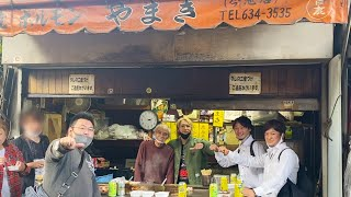 西成ホルモンやまきの開店前の仕込み、裏メニューを特別に見せてもらいました。