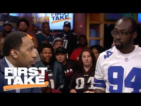 Mollywood: A Cowboys Fan Faces Stephen A. In Philadelphia | First Take | April 27, 2017
