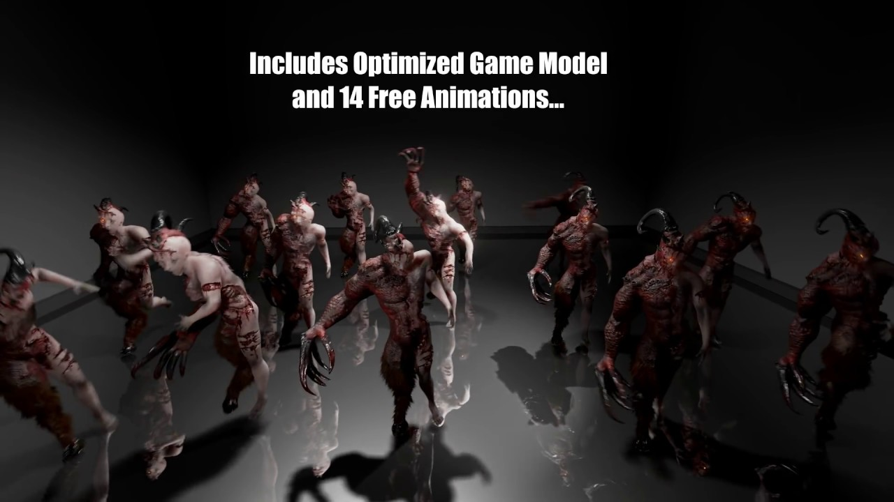 FREE] AAA Quality Horror Game Monster (Animations and AI Included