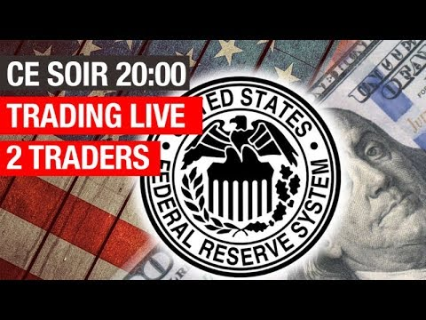 2 traders Live Trading FOMC