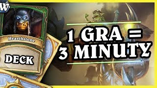 1 GRA = 3 MINUTY - MECH HUNTER - Hearthstone Deck Wild (The Boomsday Project)