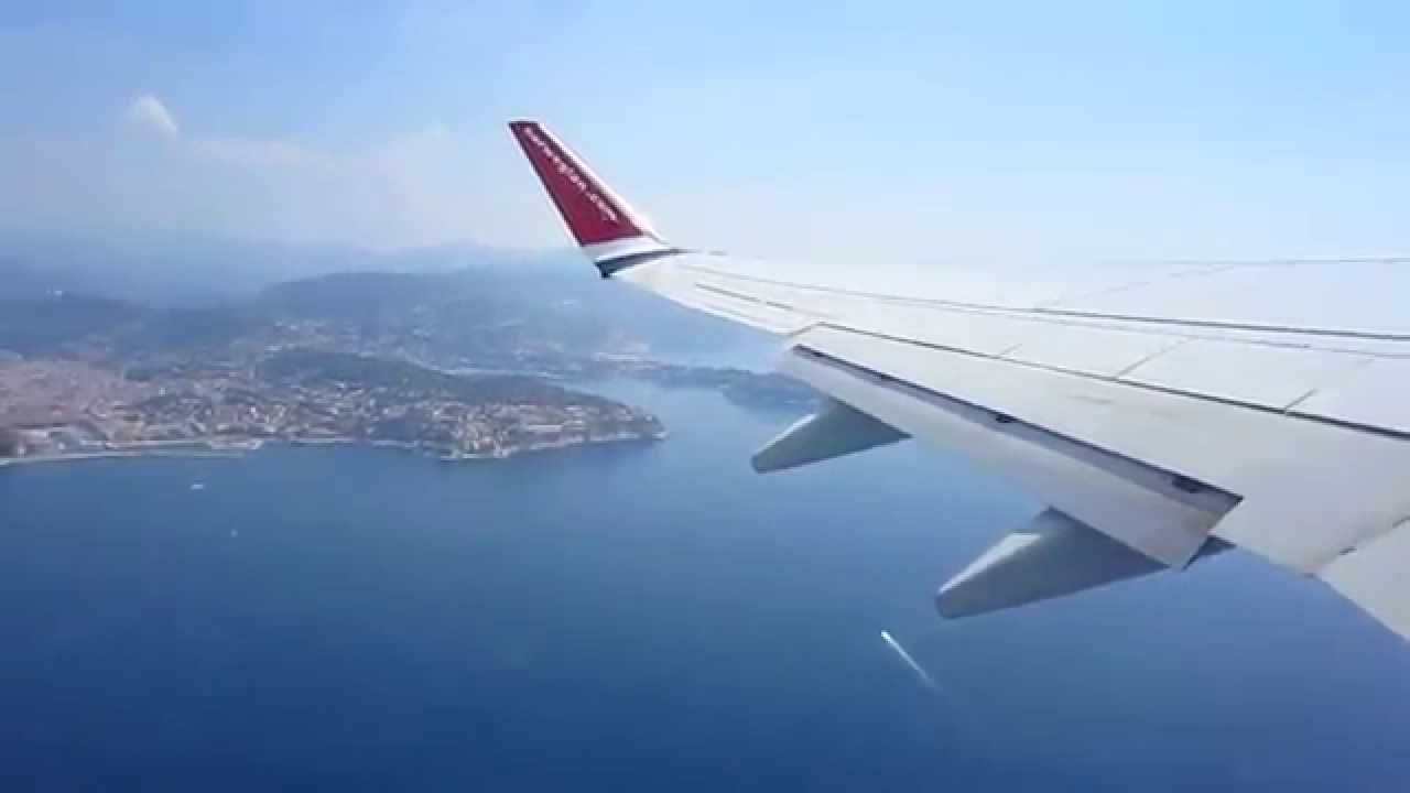 norwegian air shuttle boeing b737 800 take off from nice c te d 39 azur airport france youtube. Black Bedroom Furniture Sets. Home Design Ideas