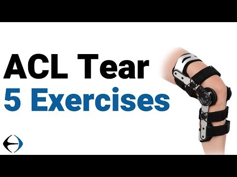 ACL and meniscus tear? 5 exercises to prepare for ACL surgery