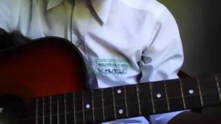"""guitar cover """"mỉm cười cho qua"""" ( nghiệp dư =)) )"""
