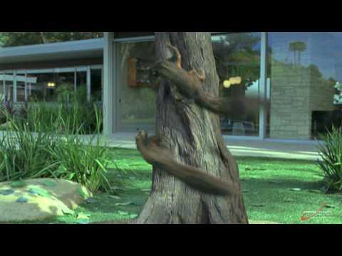 Squirrels created in Lightwave (HD)