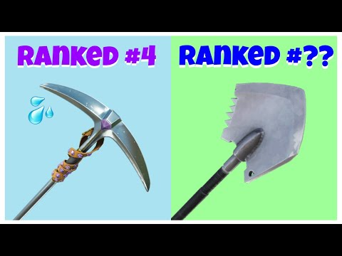 Top 10 Most TRYHARD PICKAXES In Fortnite Chapter 2 Season 2! (Sweaty Pickaxes)