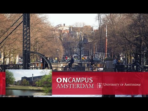 ONCAMPUS Amsterdam (University of Amsterdam) Virtual Tour