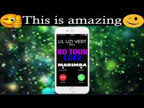 Latest iPhone Ringtone - XO Tour LIif3 Marimba Remix Ringtone - Lil Uzi Vert