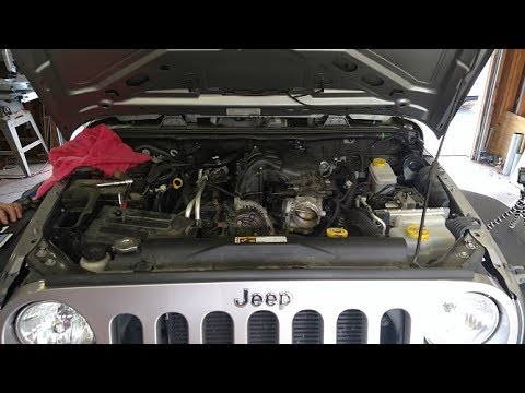 2013 Jeep Wrangler Oil Pressure Sending Unit Fix