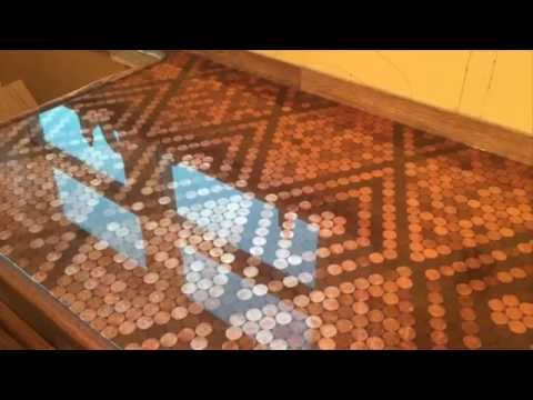 Penny Countertop With Bestbartopepoxy Com Youtube