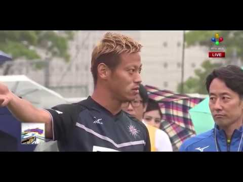Keisuke Honda Talked about Cambodia sport during Sotilo Angkor FC training in Japan with PNN