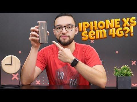iPhone Xs e Xs Max NÃO vão pegar 4G do Brasil?