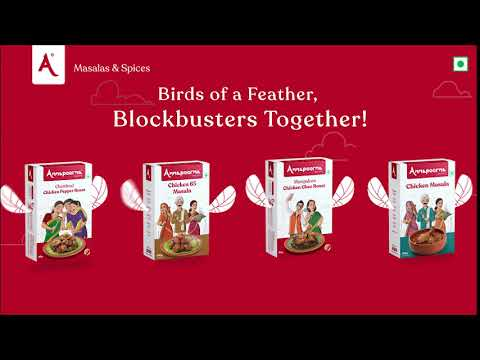 Birds of a Feather, Blockbusters Together   Annapoorna Masalas & Spices