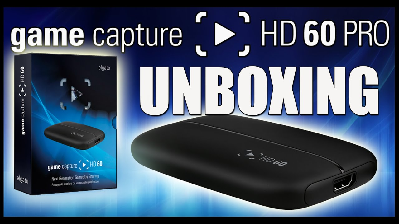 how to set on hd 60 elgato