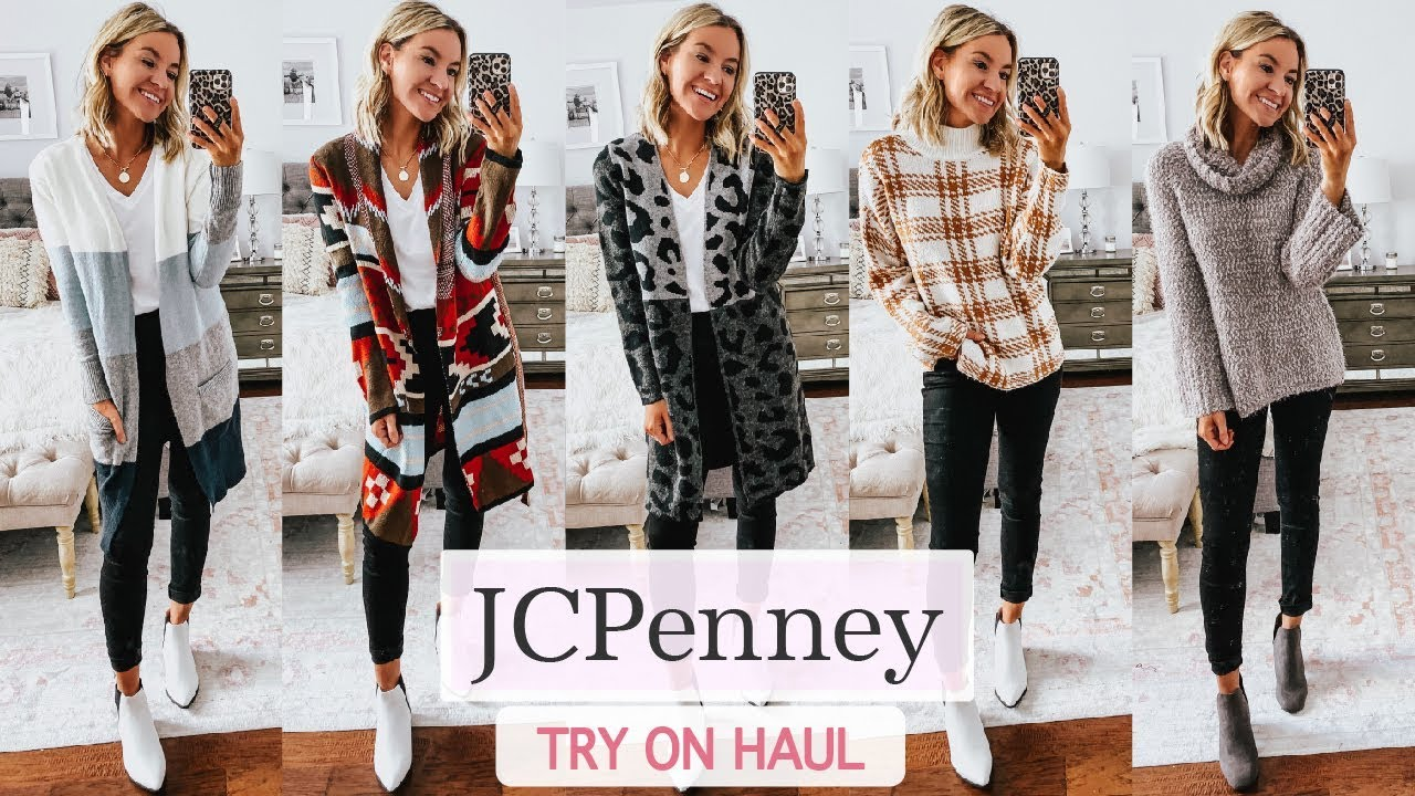 [VIDEO] - JCPenney Try On Haul   JCPenney Haul 2019   Winter Outfit Ideas 1