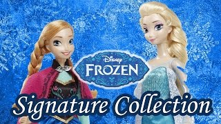 Disney Signature Collection Anna and Elsa Dolls Review