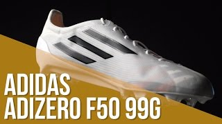 movimiento Oeste Modernización  Review adidas adizero F50 99 gramos - YouTube